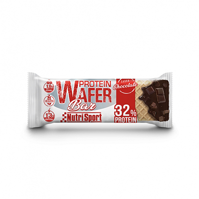 Protein Wafer Bar Chocolate - NutriSport - 15 barritas