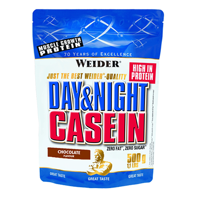 Proteínas Day & Night Casein Chocolate - Weider - 1,8 kg.