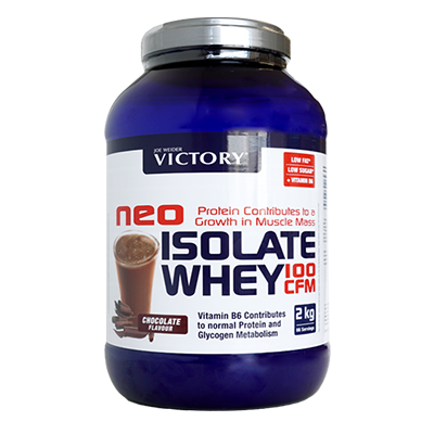 Proteínas Neo Isolate Whey 100 CFM Chocolate - Victory - 2 kg.