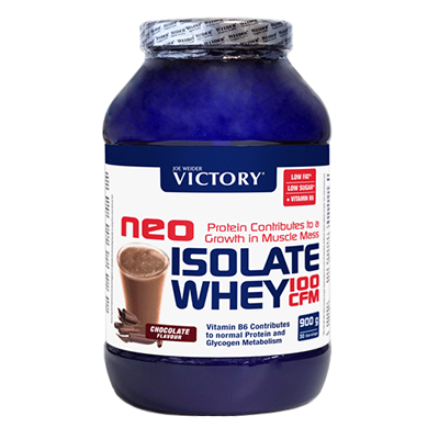 Proteínas Neo Isolate Whey 100 CFM Chocolate - Victory - 900 g.