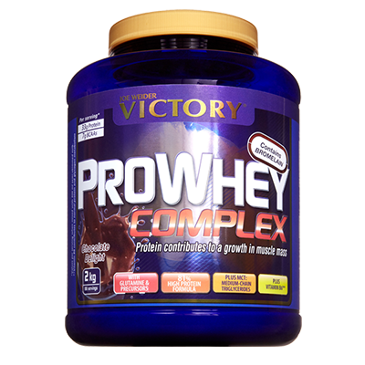 Proteínas Pro Whey Complex Chocolate - Victory - 2 kg.