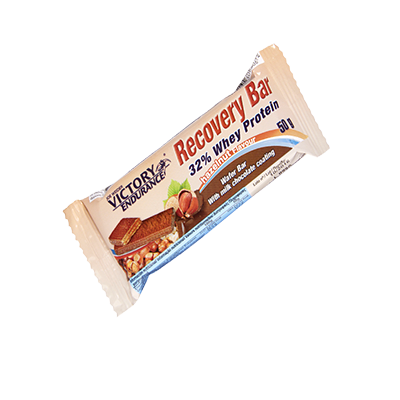 Recovery Bar 32% Whey Protein Avellana  - Victory Endurance - 12u. x 50 g