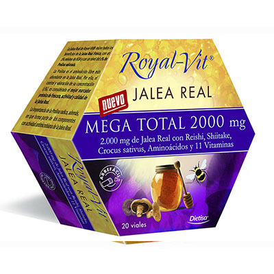 Royal Vit - Mega Total  2000 mg - Dietisa - 20 viales