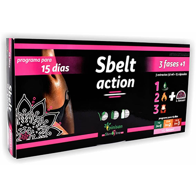 Slim Line - Sbelt Action - Pinisan - 15 cap. + 3 X 15 ml.