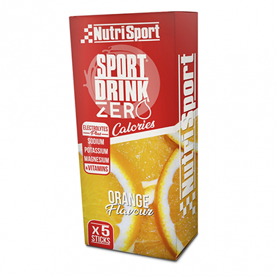 Sportdrinkzero Orange - NutriSport - 5 sticks
