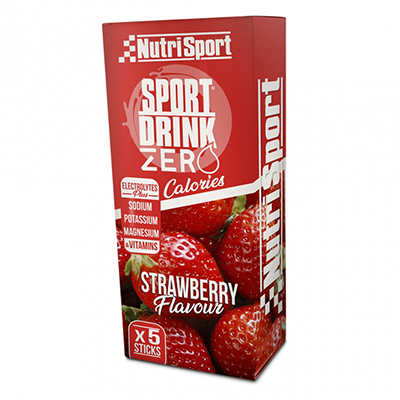 Sportdrinkzero Strawberry - NutriSport - 5 sticks