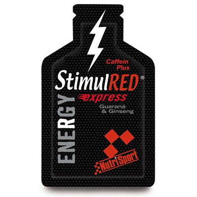 Stimul Red Energy Afrutado - NutriSport - 12 botellas de 330 ml.