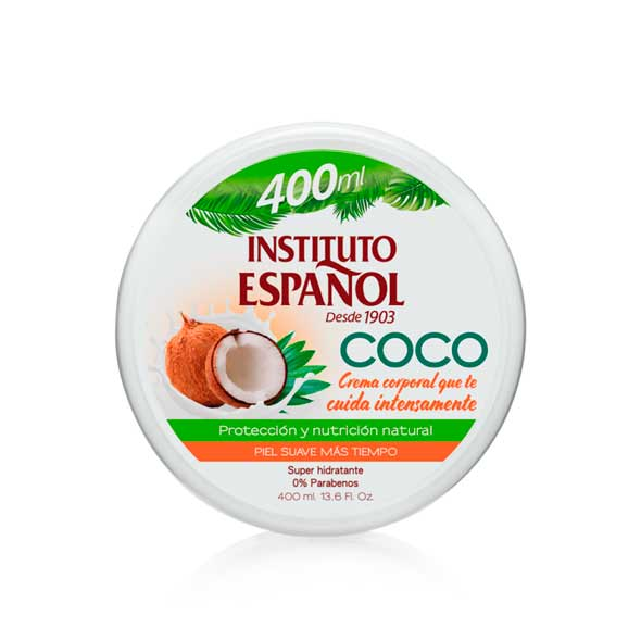 Tarro Coco - Instituto Español - 400 ml.