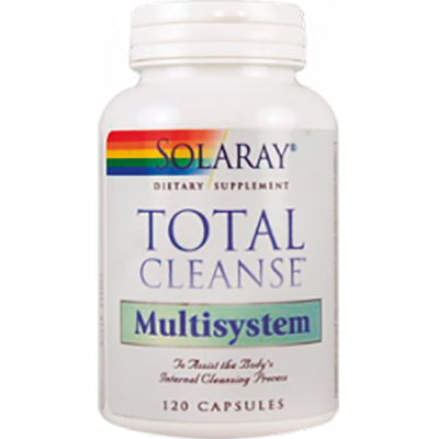 Total Cleanse Multisystem - Solaray - 120 cápsulas