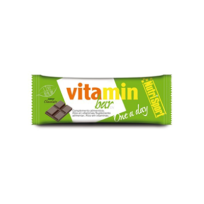 Vitamin Bar Chocolate - NutriSport - 20 barritas