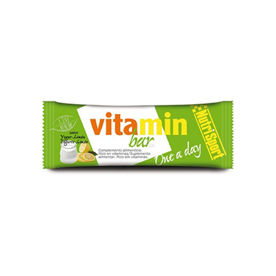 Vitamin Bar Yogurt-Limón - NutriSport - 20 barritas